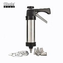 Stainless steel gun biscuit machine (black)