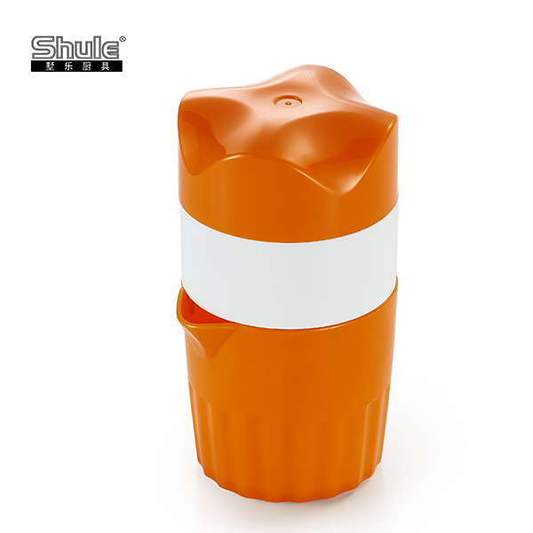 Manual ABS plastic portable orange juicer